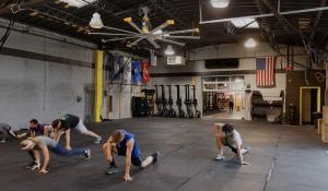 Big Ass High Volume Low Speed Fan Fitness Center